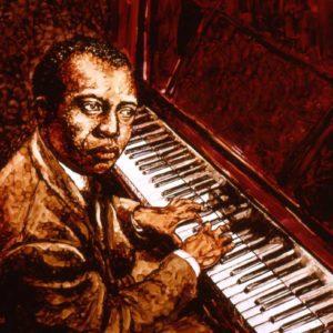 Joplin, painting by Don Locke